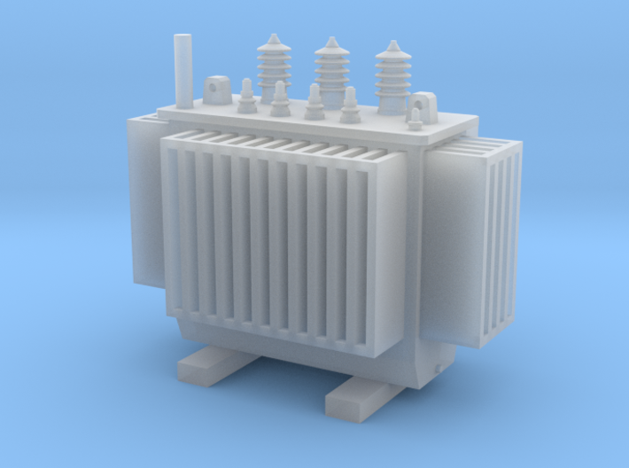 Electric Transformer  TT Scale 1:120 3d printed