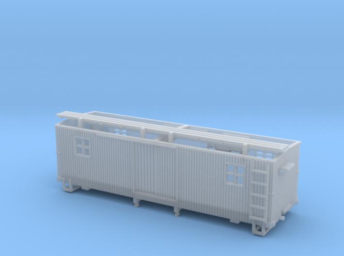 HOn3 MOW Boxcar B 3d printed