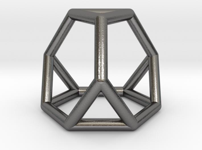 0267 Truncated Tetrahedron E (a=1cm) #001 3d printed