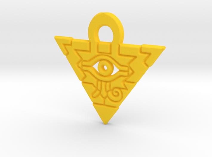 Flat Millennium Puzzle Charm 3d printed