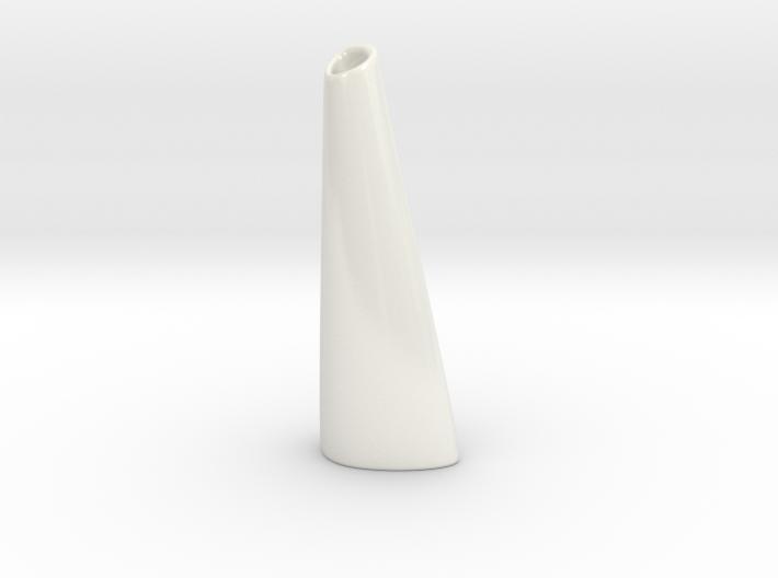 Organic Vase 3.1 (Large) - Ceramic 3d printed