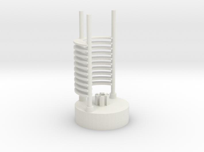 Saber Crystal Chamber lightsaber parts 2/2 3d printed