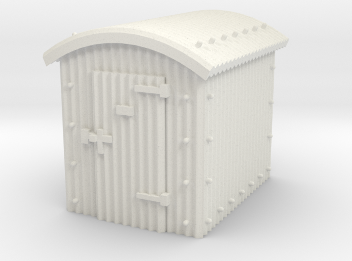 N Gauge - Great Western Railway Lamp Hut 3d printed