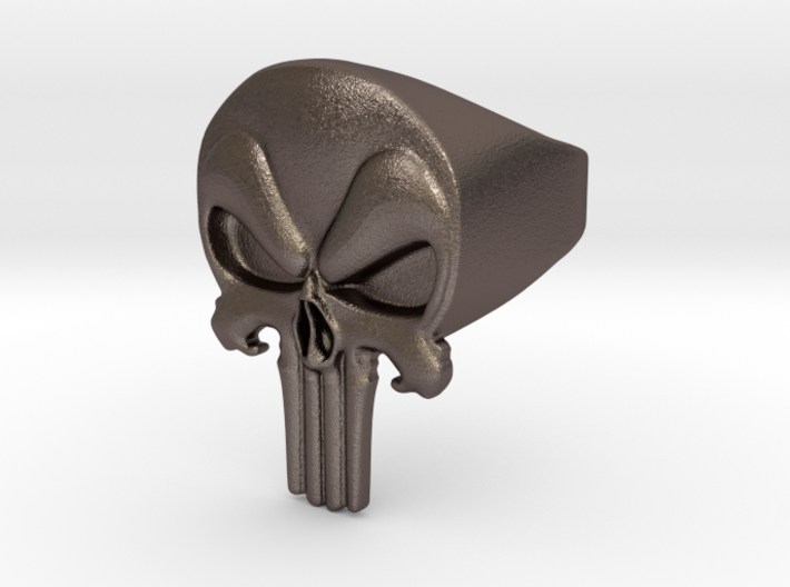 PunisherRingsize13 3d printed