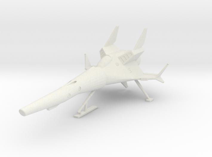 TA02A SR5 w/landing gear 3d printed