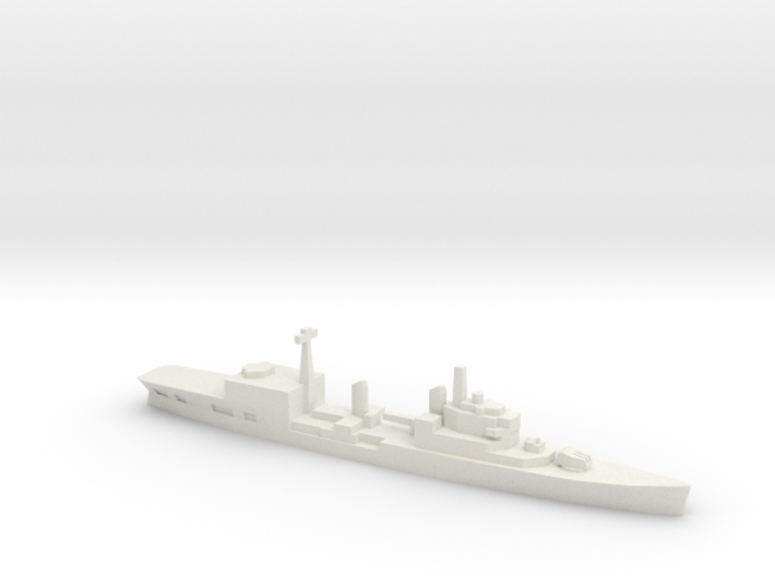 HMS Tiger Helicopter Cruiser, 1/2400 3d printed