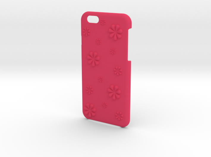 Flower iPhone6/6S case for 4.7inch 3d printed