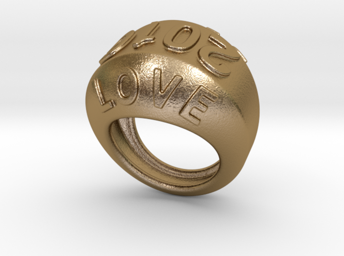 2016 Ring Of Peace 19 - Italian Size 19 3d printed
