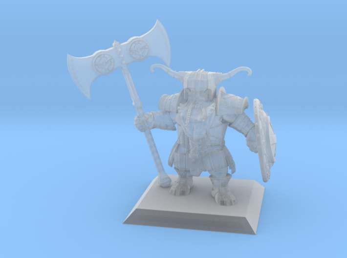 Dwarf Warrior 35mm Nº3 3d printed
