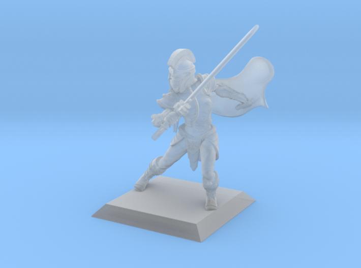 Elf Warrior 35mm Nº2 3d printed