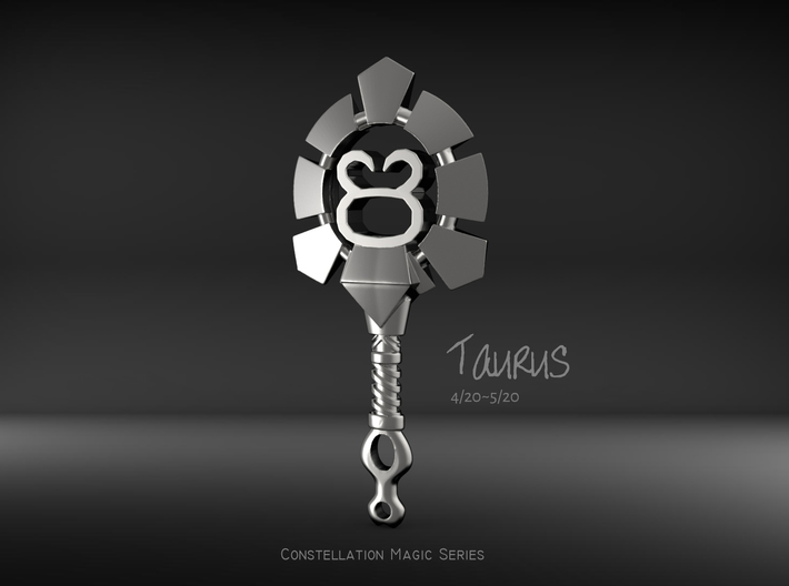 Taurus[Constellation Magic Series] - Key Style 3d printed