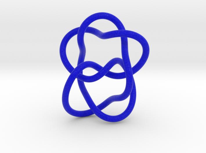 0382 Hyperbolic Knot K6.33 cm:2.30x, 4.22y, 3.53z 3d printed