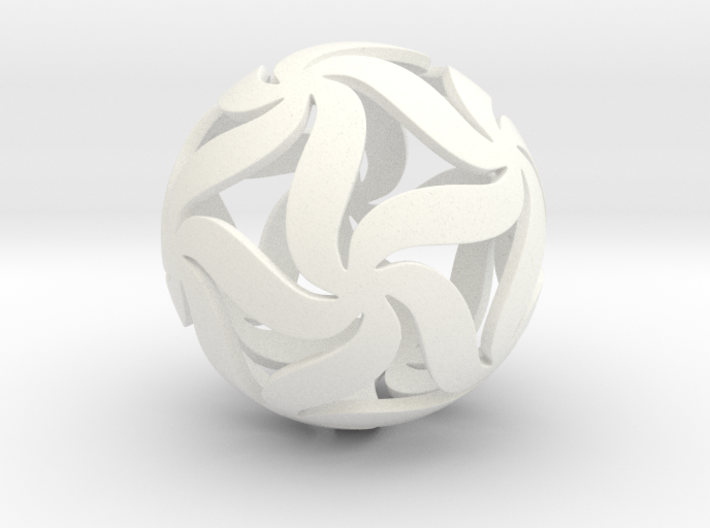 Star Ball Floral 3d printed