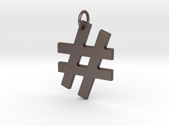 Hashtag 3d printed