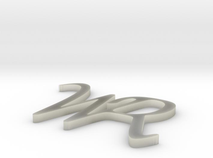 WR_Logo_weich 3d printed