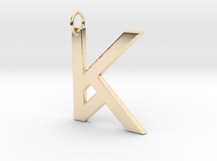 K 3d printed