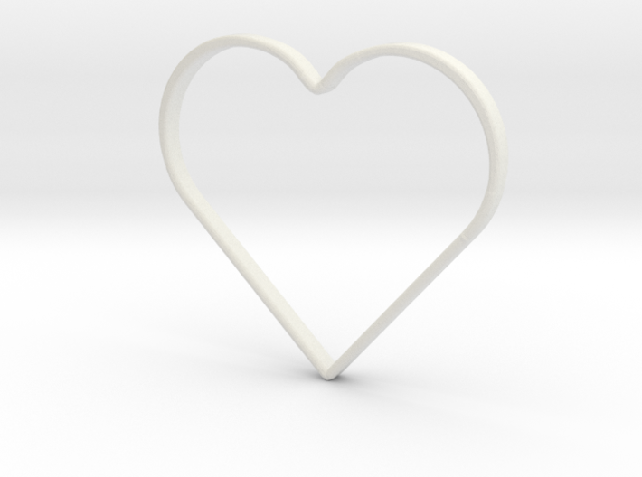 Hand Heart Saftyring 3d printed