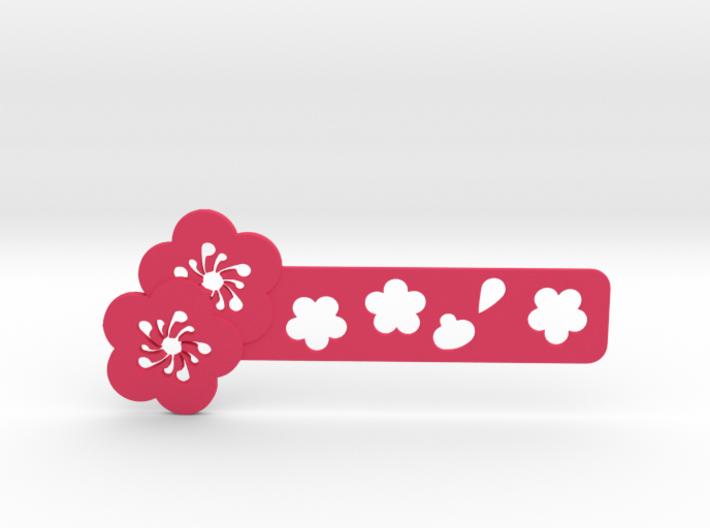 Sakura Bookmark Model A 3d printed