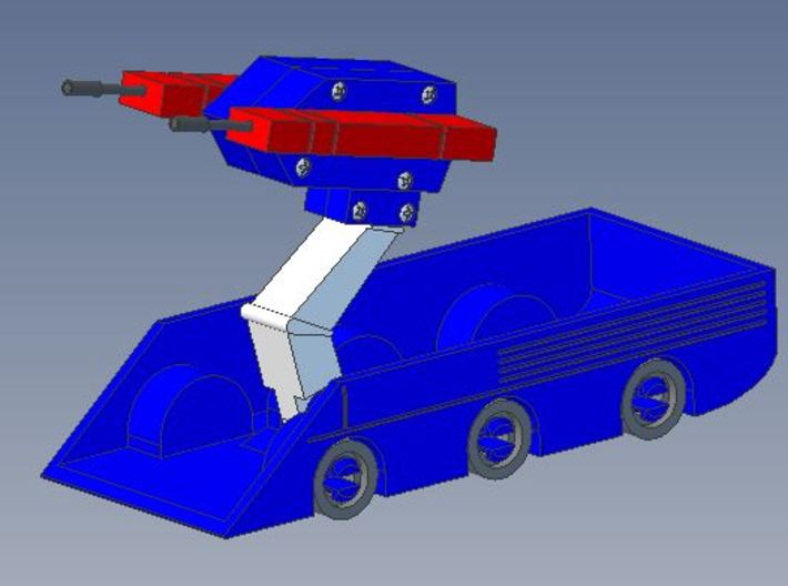 First Roller in Transformers Cartoon Series 3d printed My design