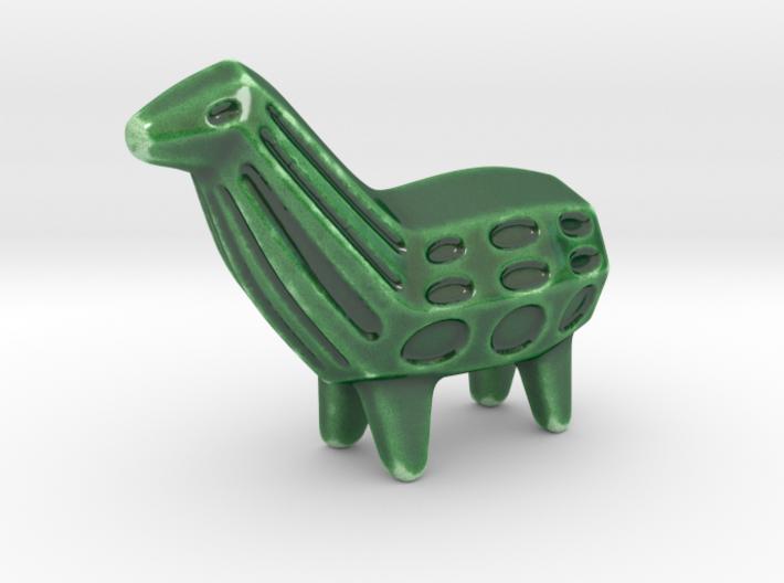 Llama Sculpture 3d printed