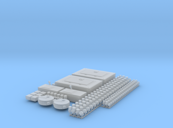1/24 Scale scale shop acc'y set (Elec. & Plumb) 3d printed