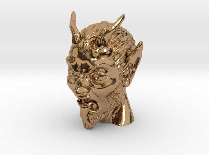 Krampus the Christmas Demon 3d printed