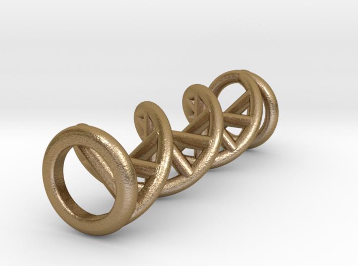 Pendant DNA 3d printed