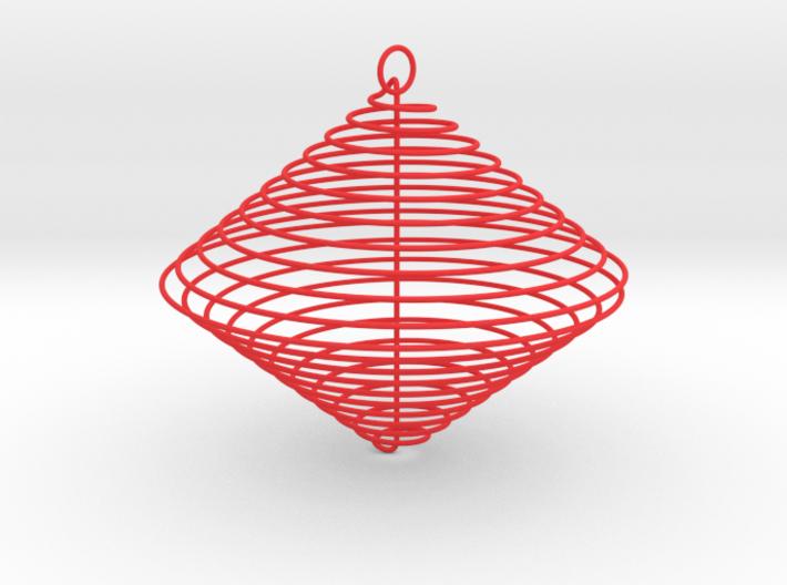 Christmas-ball Spiral 3d printed