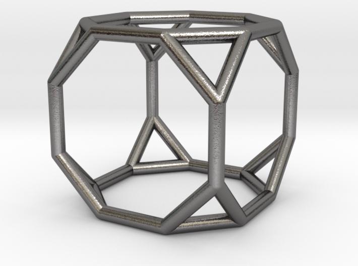0271 Truncated Cube E (a=1cm) #001 3d printed