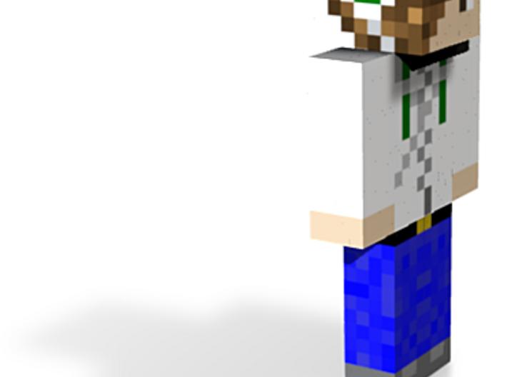 12cm   MinecraftVGFan 3d printed