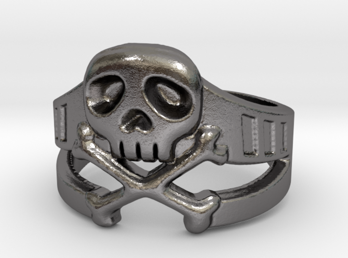 Space Captain Harlock | Ring Size 8 3d printed