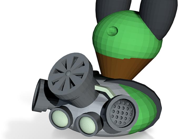 Nuclear Wasteland N0gg1n 3d printed
