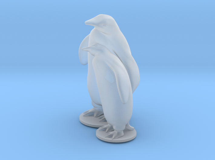 Penguins 3d printed