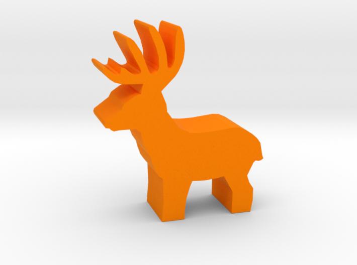 Game Piece, Deer Buck, standing 3d printed