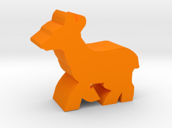 Game Piece, Deer Doe, running 3d printed