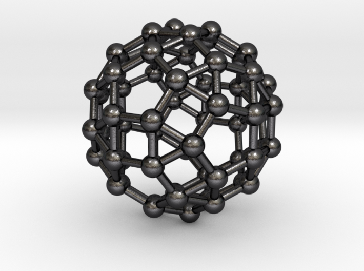 0392 Small Rhombicosidodecahedron V&E (a=1cm) #003 3d printed