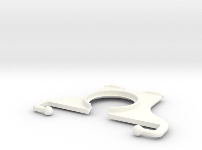 """NEODiVR PLAy 5"""" Phone RightArm with Flexi-Tips 3d printed"""