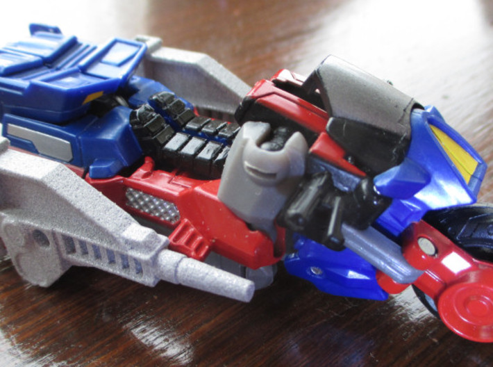 CW 'GROOVE' Guns (Twin) inspired by G1 Override 3d printed (LR set pictured)