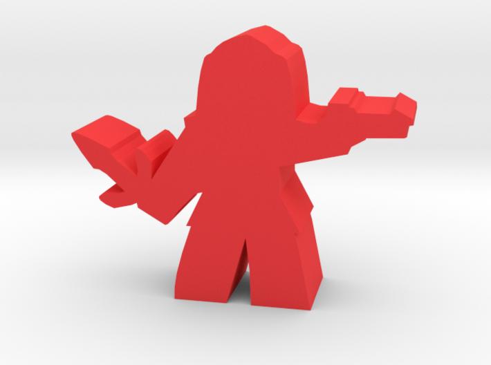 Game Piece, Warrior Empire Soldier, dagger 3d printed