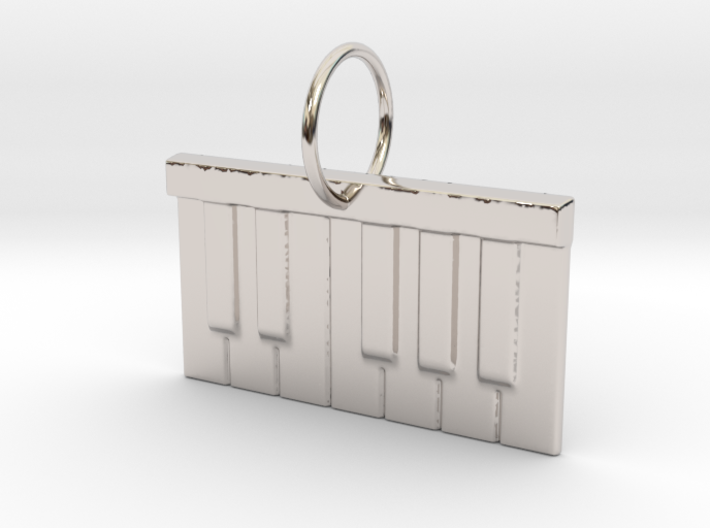 Piano Keys 3d printed