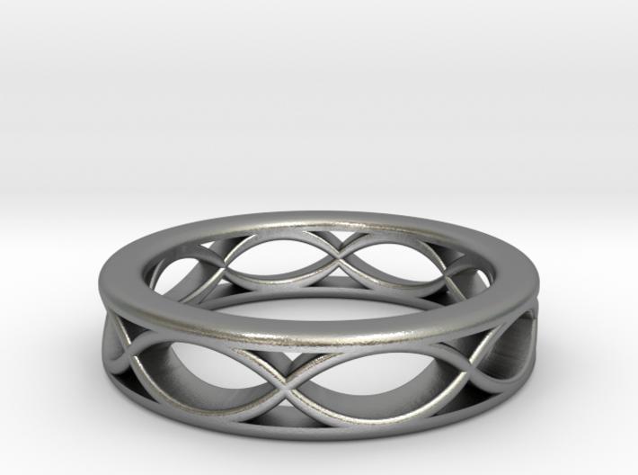Twisting Ring 3d printed