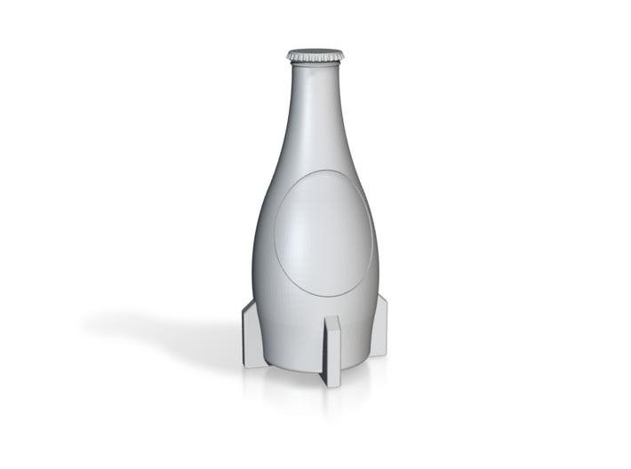 Nuka Cola bottle keychain size 3d printed