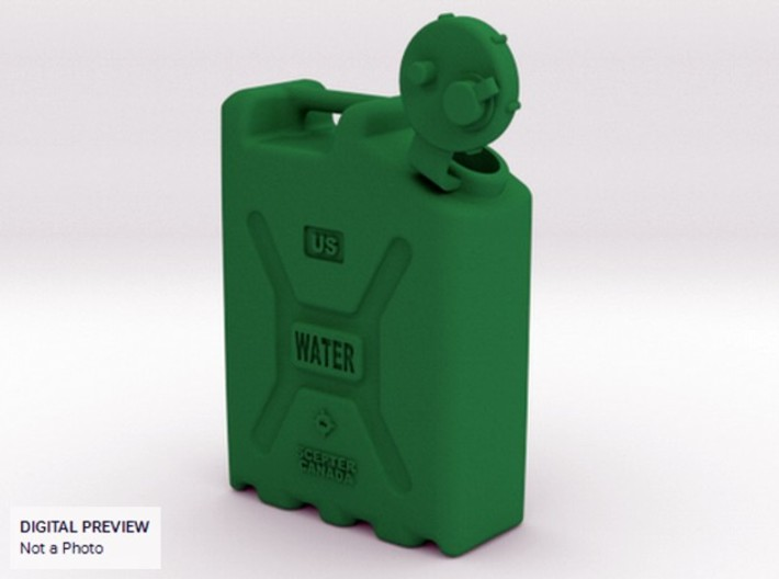 1-10.5 Military Water Can 3d printed