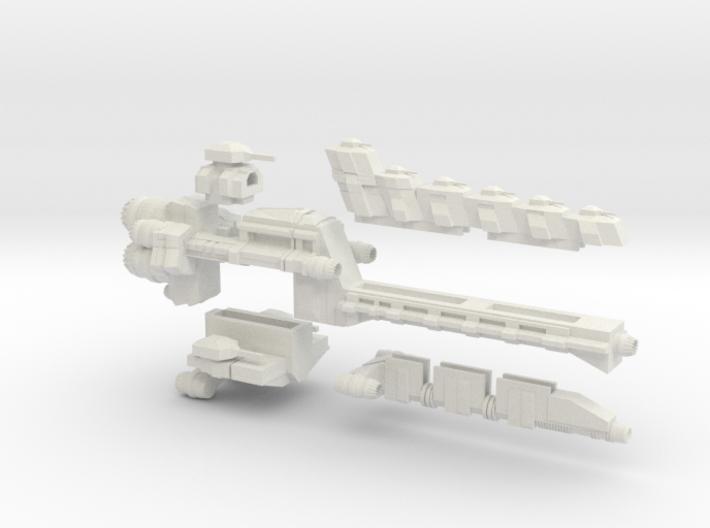 Test Linebacker Class Adatable Frigate 3d printed
