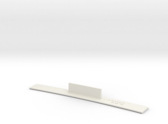 ME83-38R Curve Template HO Scale 3d printed