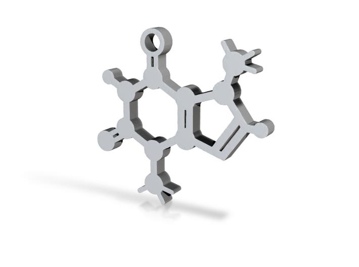 Theobromine [Chocolate Molecule] 3d printed