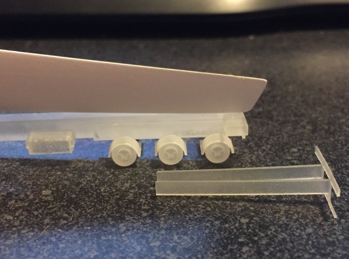 N Wind Blade Trailer (Expandable) 3d printed