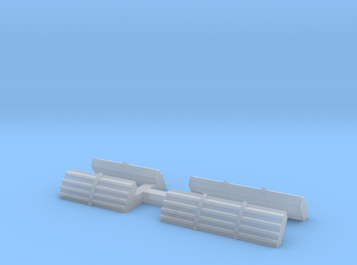 N gauge class 56 replacement No2 roof grilles 3d printed