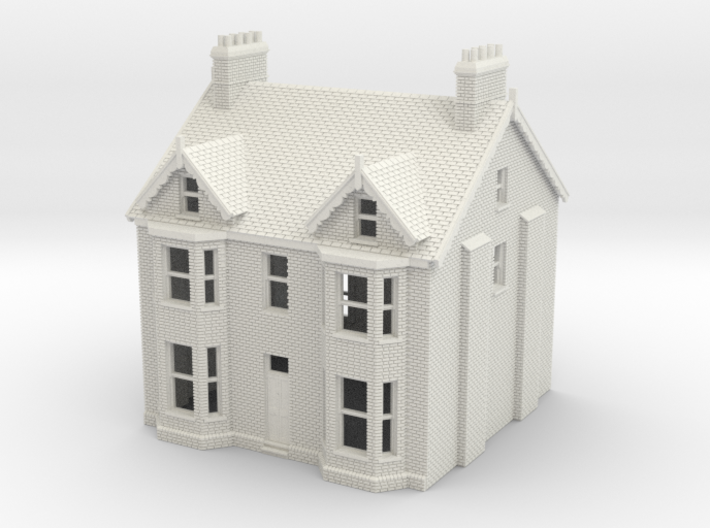 HCH-1 N Scale Honiton Churchill Semi-detached 3d printed