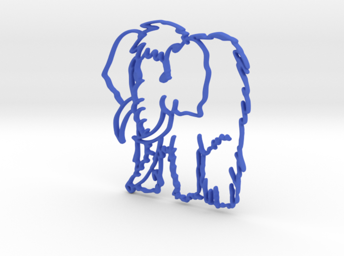 Baby Mammoth 3d printed